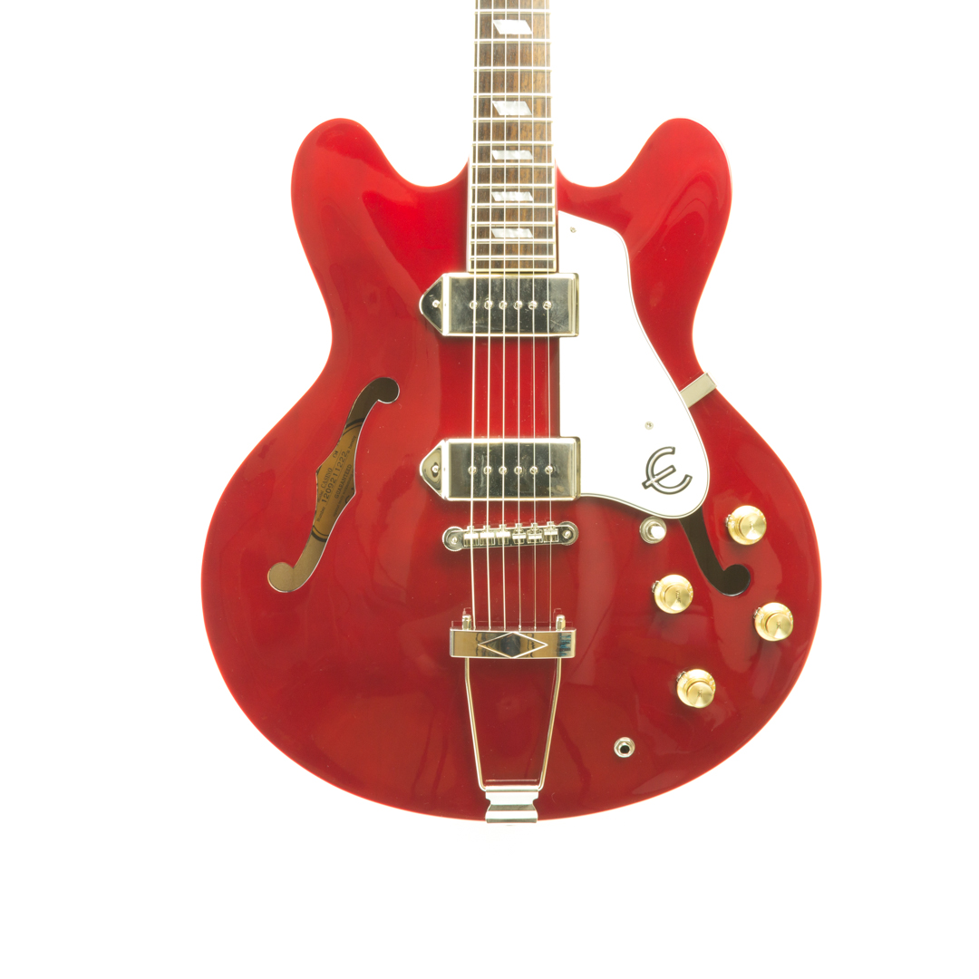 Epiphone Casino Mik Cherry 2nd Hand Guitar Lovers