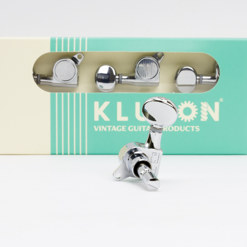 Kluson MLK6LC (6 in Line) Locking Tuners ⋆ Guitar Lovers