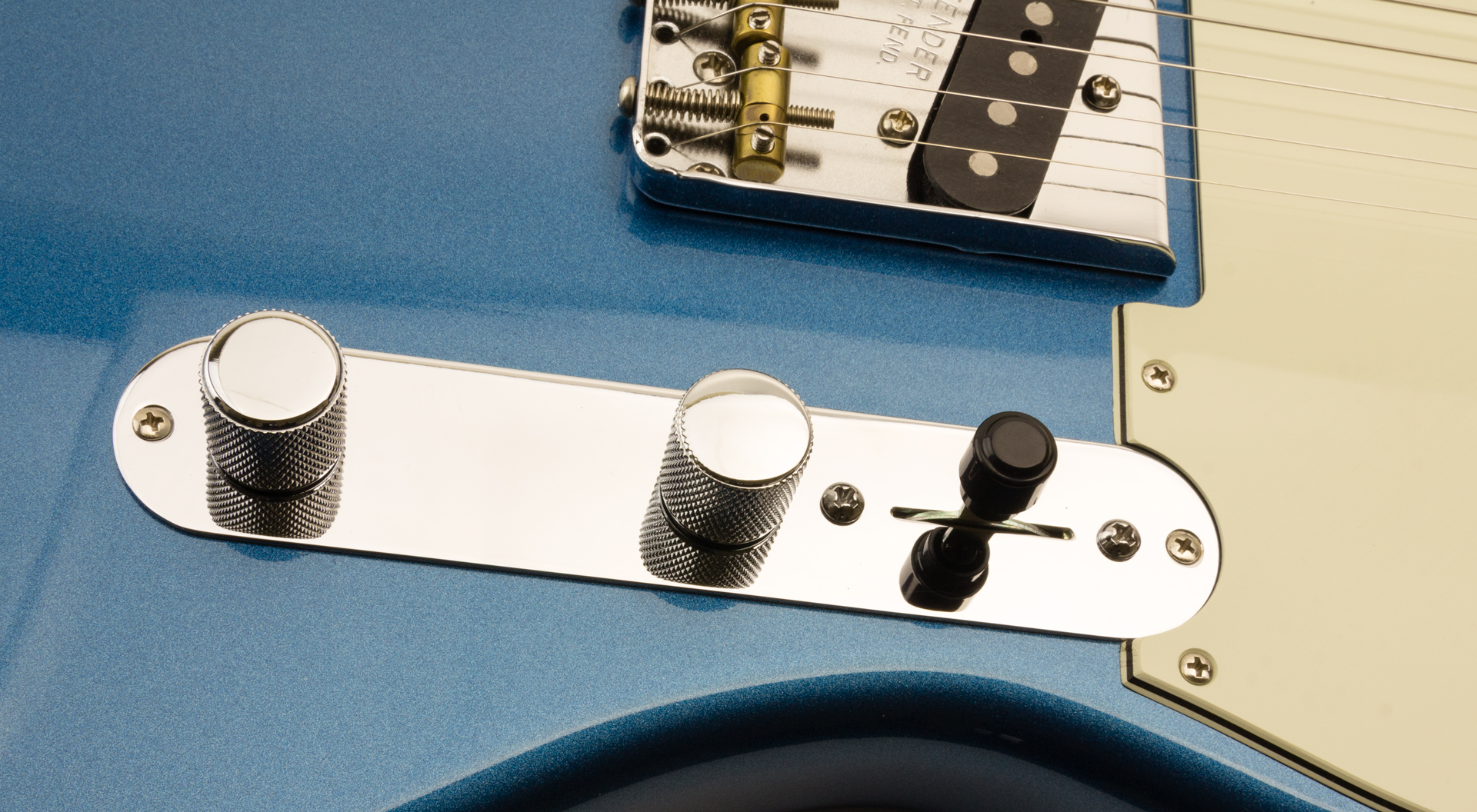 Telecaster style switch tip black